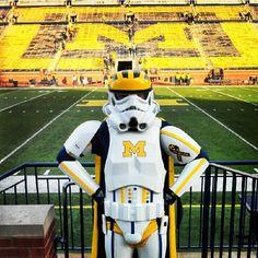 Wolverine Trooper is ready for football season!