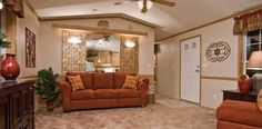 single wide mobile home indoor decorating ideas - Google Search                                                                                                                                                                                 More
