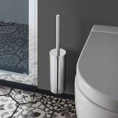 Crosswater - Mike Pro Toilet Brush Holder - Chrome - PRO025C | UK Bathroom Store