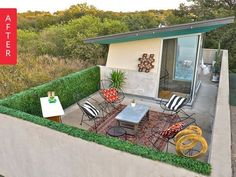 Before & After: Austin Deck Meets Palm Springs Meets Marfa