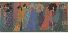 """Vittorio Zecchin, """"Les mille et une nuits"""", vers 1914, Paris, musée d'Orsay  Peintures, sculptures, tapisseries, dessins d'architecture, objets d'art, photographies, meubles : 4000 pièces sont entrées dans les collections d'Orsay depuis 2007. Le musée parisien en révèle au public près de 200 dans l'exposition """"Sept ans de réflexion"""", installée dans les dix salles de la galerie du cinquième étage."""