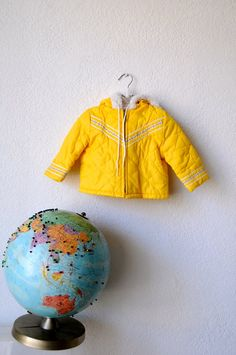 Yellow Kid's Jacket by babycomeback