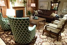 Classic Beauty: Equestrian chic - living room collection by Julie Bova for Stanford Furniture. Fall 2013 #hpmkt