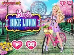 Jak spędzać czas na wakacjach? Warto ruszyć się z domu i zadbać o kondycję! Barbie coraz częściej wybiera się na wycieczki rowerowe.  http://www.ubieranki.eu/ubieranki/10241/barbie-na-rowerze.html