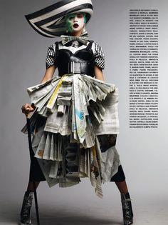 Newspaper Girl!!