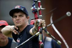 Brady Ellison of the United States competes in the Men's Team Archery semi final on Day 1 of the London 2012 Olympic Games at Lord's Cricket Ground on July 28, 2012 in London, England. (Photo by Paul Gilham/Getty Images)  Jake Kaminski of the U.S. fires an arrow during the men's archery team quaterfinals at the Lords Cricket Ground during the London 2012 Olympics Games July 28, 2012. REUTERS/Suhaib Salem (BRITAIN - Tags: SPORT OLYMPICS SPORT ARCHERY)
