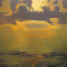 birdsong217:  John Houston (Scottish, 1930-2008)Harris Seascape, c.1974. Oil on canvas.