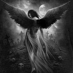 And the Angel of Death walked through her home, remembering the souls that lived there.