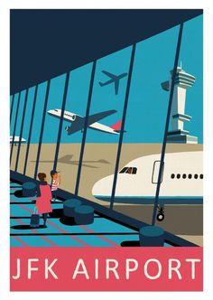 JFK Airport - Paul Thurlby