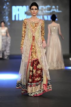 Zara Shahjahan at PFDC L'Oreal Paris Bridal Week 2013 Day 3