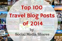 "From ""listicles"" to long reads, and from food to photography, the articles on this list of the most shared travel blog posts of 2014 all have one thing in common -- they'll make you want to pack your bags and go!"