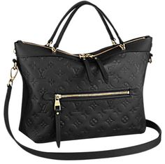 PRICING ERROR - SHOULD BE $2499. Glitch in Tradesy's system that will not allow me to edit price. SOLD OUT/DISCONTINUED! Absolutely stunning black Bastille PM handbag from the Louis Vuitton Monogram Empreinte line. Guaranteed authentic! Beautiful DEEP embossings! Your everyday bag just got much more fashionable thanks to this superb shoulder tote. Can also be worn as a crossbody or on the crook of your arm. The perfect bag to transition from day to night, and everything in between!...