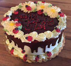 Lady bug birthday cake. Chocolate mint. SweetHeart Bake Shop Portland Or