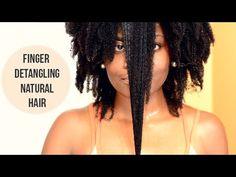 Tutorial: How to Finger Detangle [Video] - http://community.blackhairinformation.com/video-gallery/natural-hair-videos/tutorial-how-to-finger-detangle-video/