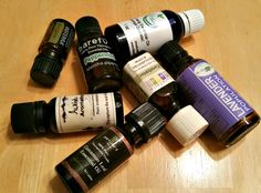 Never throw away empty essential oil bottles: you can use them in many ways and save money on new glass bottles.