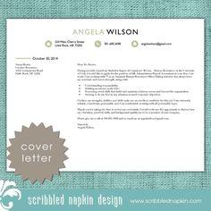 horizontal hr recruiter resume template cover letter