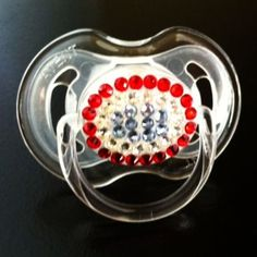 All American Bling Pacifier on CLEARANCE!! $12