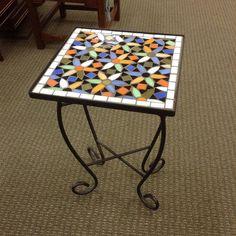 in Tualatin. Small Mosaic Table $25 #EstateStore #mosaictable by estatestore