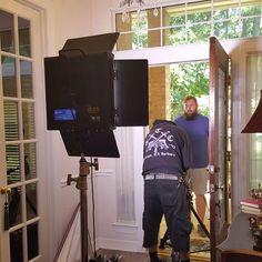 #E_thefilm using #ikan #LED #light #panels on set last weekend in #Houston! ⭐️⭐️⭐️ #film #movies #filmlife #setlife #onlocation #lighting #gear #production #equipment
