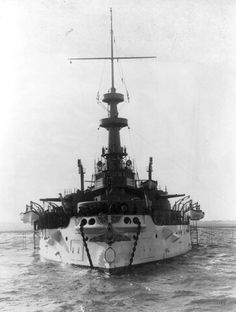 """USS """"Indiana"""" leading ship of its class Pre-Dreadnought Battleships in Uss Indiana, Uss Oklahoma, Navy Chief Petty Officer, Us Battleships, United States Navy, War Machine, Us Navy, Water Crafts, Sailing Ships"""