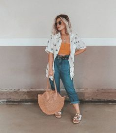 Curvy Girl Outfits, Cute Casual Outfits, Look Fashion, Fashion Outfits, Fashion Design, Look Office, Cool Girl Style, Mein Style, Outfit Goals