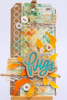 Simon Says: Stitch It - Simon Monday Challenge Blog Canvas Background, Simon Says Stamp Blog, Circle Pattern, Winter Cards, Card Maker, Halloween Cards, Puzzle Pieces, Altered Art, Paper Dolls