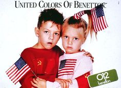Not mad at an old Benetton ad. Not one bit...