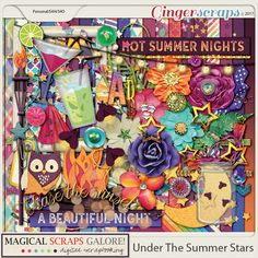 Under The Summer Stars (page kit)