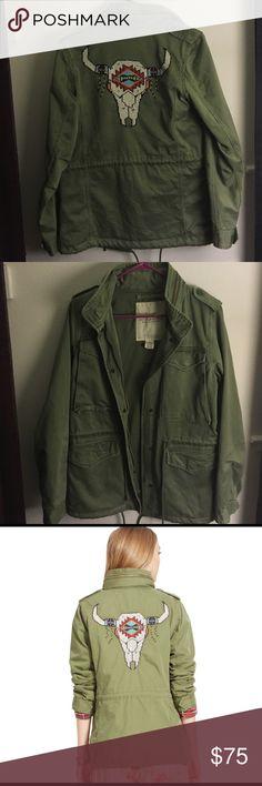 Ralph Lauren Denim and Supply Women's Jacket Only worn once! Size Medium. Amazing quality jacket. Denim & Supply Ralph Lauren Jackets & Coats Trench Coats