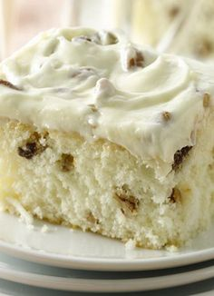 Italian Creme Cake #desserts #dessertrecipes #yummy #delicious #food #sweet