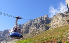 You better be prepared for some epic views aboard this bad boy! (Table Mountain, South Africa)