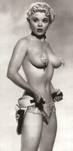Burlesque dancer Candy Barr c.1950's