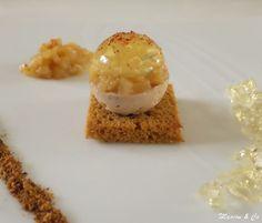 Boule de foie gras, gelée de Sauternes et brunoise de poires_7