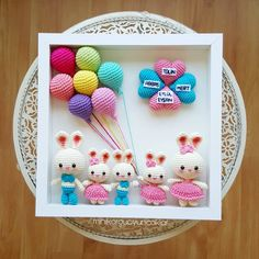 I couldn& say hello le My heart& out of this cute board. Your comments are very important li Delightful weeks ın Source by lesenlik. Bunny Crochet, Crochet Diy, Easter Crochet, Crochet Animals, Crochet Crafts, Crochet Dolls, Crochet Projects, Crochet Wall Art, Crochet Decoration