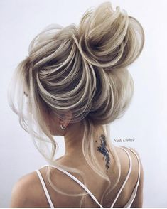 91 best wedding hairstyles for short and long hair 2018 - Hairstyles Trends Night Out Hairstyles, Going Out Hairstyles, Best Wedding Hairstyles, Cool Hairstyles, Half Up Wedding Hair, Mother Of The Bride Hair, Hair Upstyles, Hair Today, Prom Hair
