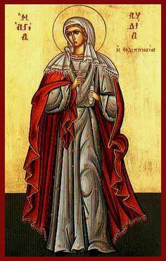 Λυδία η Φιλιππησία, Αγία * | Μάιος - Άγιος Κοσμάς Ο Αιτωλός | Ορθόδοξος Ιεραποστολικός Σύνδεσμος