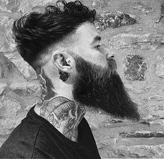 So gear up with some crazy ideas this time as mens undercut hairstyles with beard is going to be one of the trends setting ideas around you. Best Undercut Hairstyles, Mens Hairstyles With Beard, Undercut Men, Asian Men Hairstyle, Face Shape Hairstyles, Side Hairstyles, Hair And Beard Styles, Short Hair Styles, Men's Hairstyle