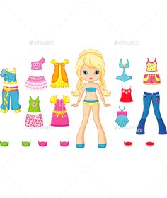 Paper Doll - People Characters