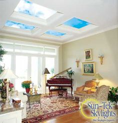 I'm deeply interested in residential design, and I think it's ludicrous how little skylights are used within homes. It can create a much more enlightening, calming, and relaxing experience where one usually looks for relaxation most...at home.
