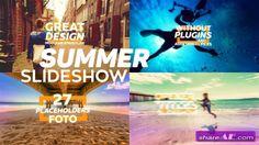 Videohive Summer Slideshow