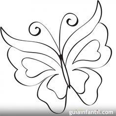 Mariposa para imprimir - 10 dibujos de mariposas para colorear