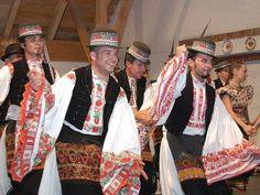 Matyó legények Mezőkövesd - Young matyó men in hungarian folk costume - Mezőkövesd - Hungary