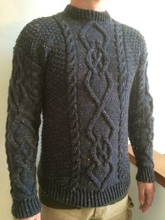 Ravelry: Project Gallery for Wash's Sweater pattern by Don Yarman