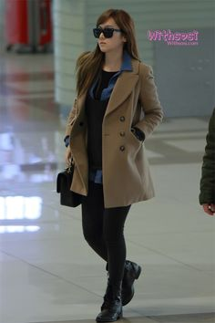 Jessica ; cool airport fashion.