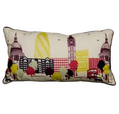 City Scape Bolster 40cm x 90cm Available at More By Design