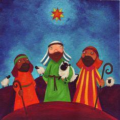 Three kings/wisemen