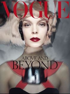 Meghan Collison Covers Vogue Italias October 2012 Issue