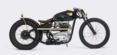 """BSA Lightning custom by The GasBox - """"Men like bikes, men like women. And of course men like sexy women on bikes. But what is sexier than a woman who owns a 1965 BSA Lightning and actually rides the damn thing? Nothing."""""""