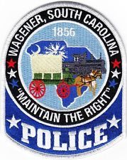SOUTH  CAROLINA  -  WAGENER  POLICE   DEPARTMENT  Patch