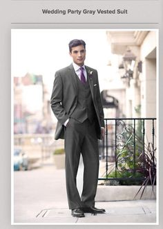 Men's Warehouse. Vested suit may be an alternative to a tux?